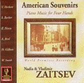 American Souvenirs, Piano Music for Four Hands