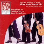 Three Guys Named Mo Mozart, Molitor, and Molino