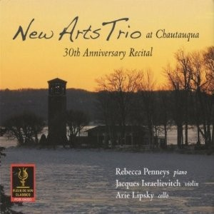 New Art's Trio at Chautauqua 30th Anniversary Recital