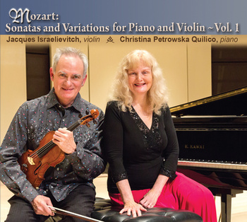 Mozart Sonatas and Variations, for Violin and Piano, Volume 1