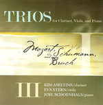 Trios III: for clarinet, viola, and piano